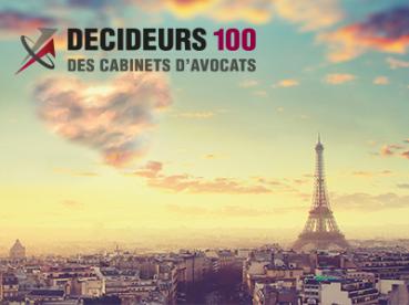 Classement Décideurs des 50 meilleurs cabinets d'avocats d'affaires français