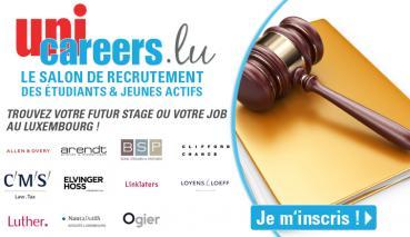 Unicareers.lu : plus de 200 offres d'emploi au Luxembourg dans le Droit et le Juridique : comment vous préparer