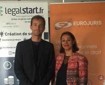 EUROJURIS FRANCE et Legalstart.fr s'unissent pour innover et moderniser les pratiques du droit