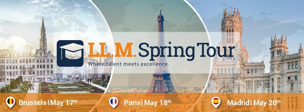 Le LL.M. Spring Tour revient à Paris !