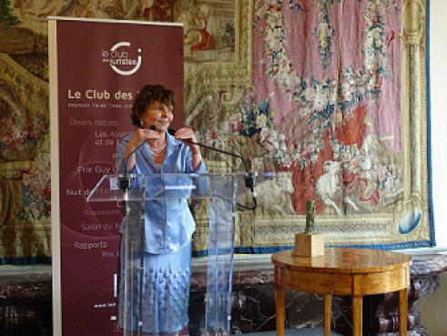 Armelle le Bras-Chopard , lauréate du 7ème Prix Olivier Debouzy