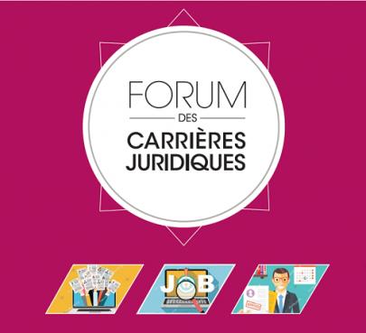 SAVE THE DATE : le Forum des carrières juridiques revient le 8 décembre prochain !