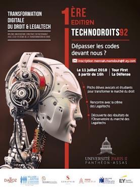 Lancement de la 1ère édition des TechnoDroitS92