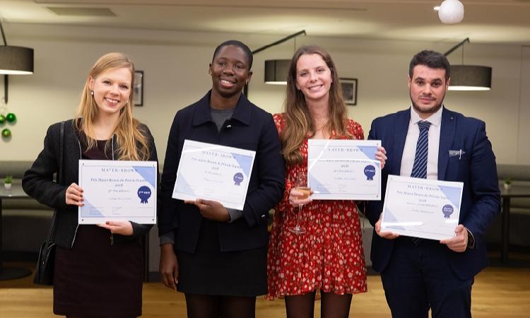 Mariam Kouanda remporte le Prix Mayer Brown du private equity