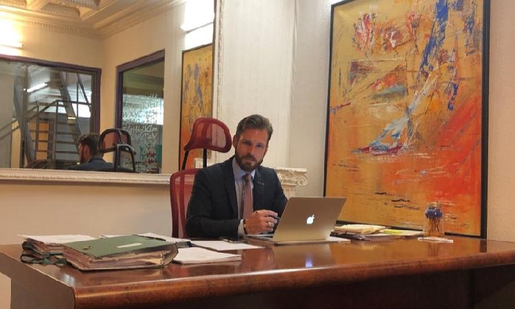 Le fondateur du cabinet GFK CONSEILS-JURIDIS honoré
