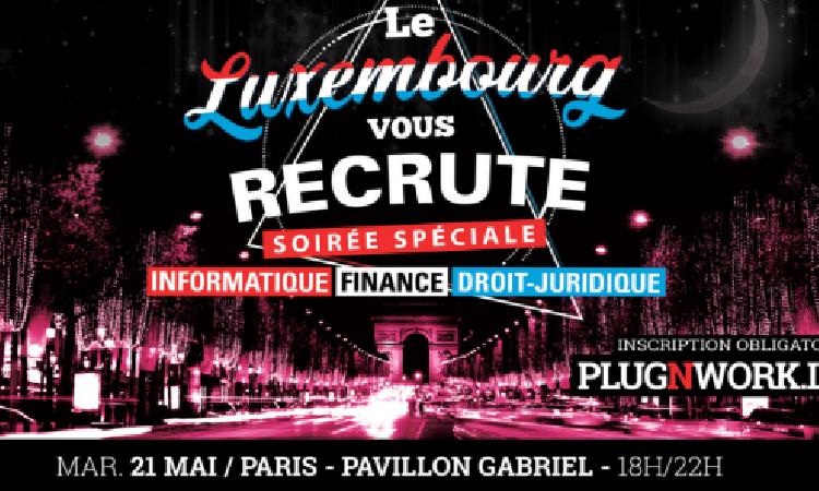 Les recruteurs luxembourgeois à la rencontre des talents juridiques parisiens