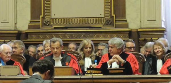 Audience solennelle de rentrée au Tribunal de commerce de Paris