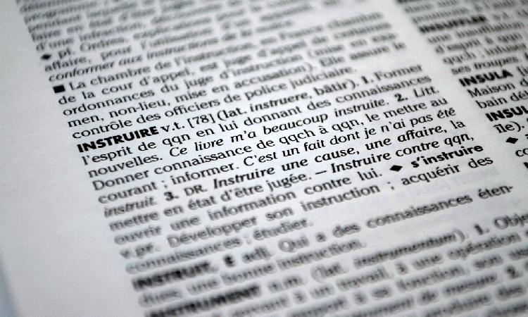Le lexique du règlement des litiges