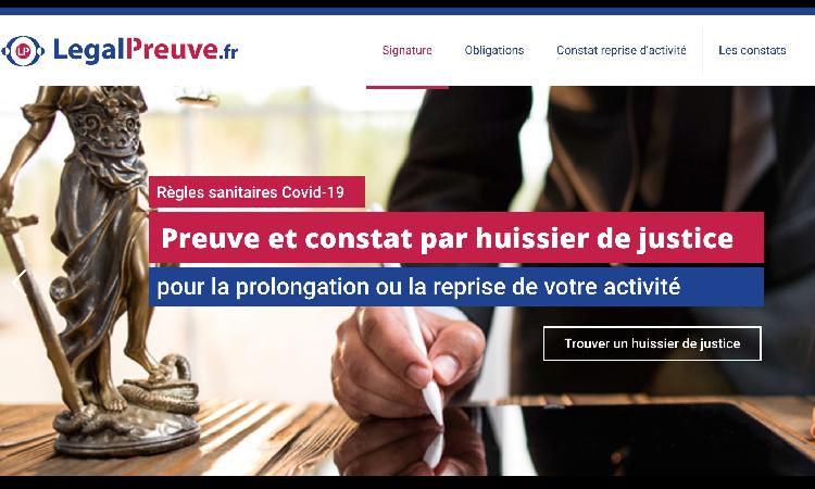 Legalpreuve.fr : pleins feux sur le constat d'huissier de justice de reprise d'activité