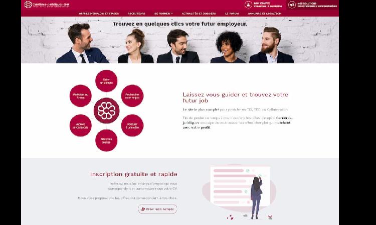 Carrières-Juridiques.com fait peau neuve