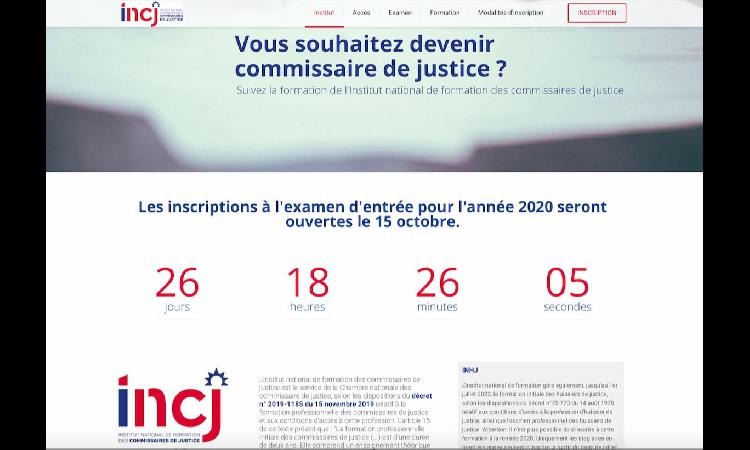 Examen d'accèsàla formation professionnelle de commissaire de justice : les inscriptions débutent en octobre
