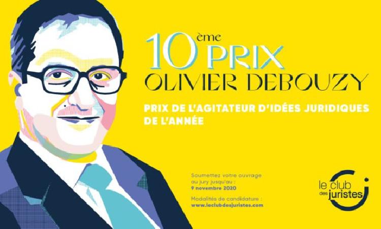 La 10ème édition du Prix Olivier Debouzy est lancée !