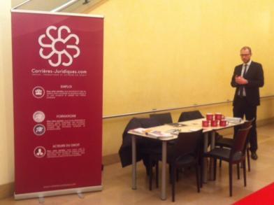 Carrières-Juridiques.com était présent au forum des métiers du droit 2014  organisé par SciencesPo.
