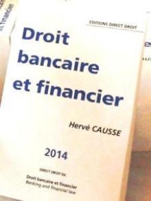 Un nouvel ouvrage en Droit Bancaire et Financier