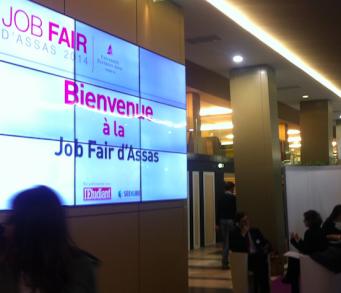 Carrières-Juridiques.com était présent à la 6ème édition de la Jobfair d'Assas