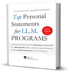 The Art of Writing an LL.M. Personal Statement