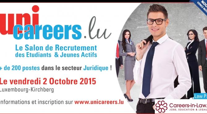 Salon Unicareers.lu - 02 octobre 2015