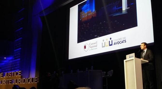 Congrès des avocats : Emmanuel Macron rassure la profession