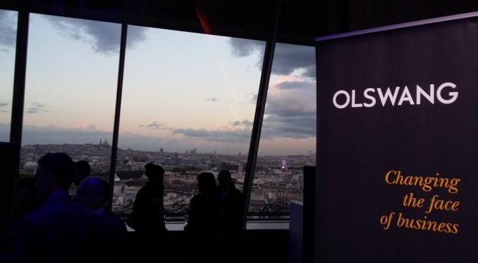 Le cabinet Olswang fête ses 5 ans sur la Tour Eiffel