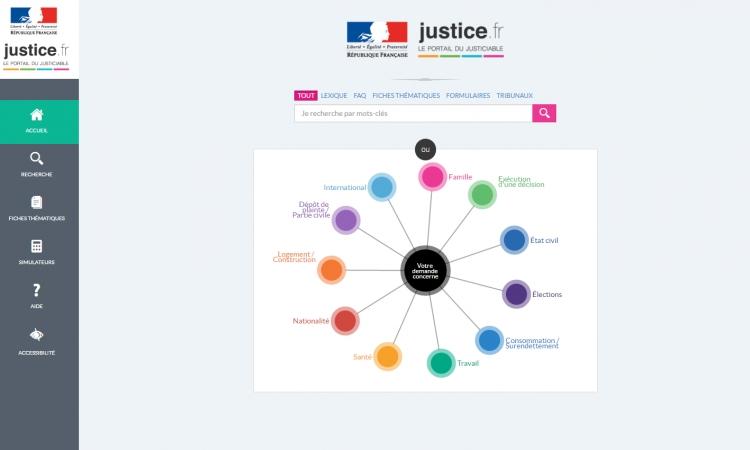 Justice.fr : un pas vers la justice du XXIe siècle