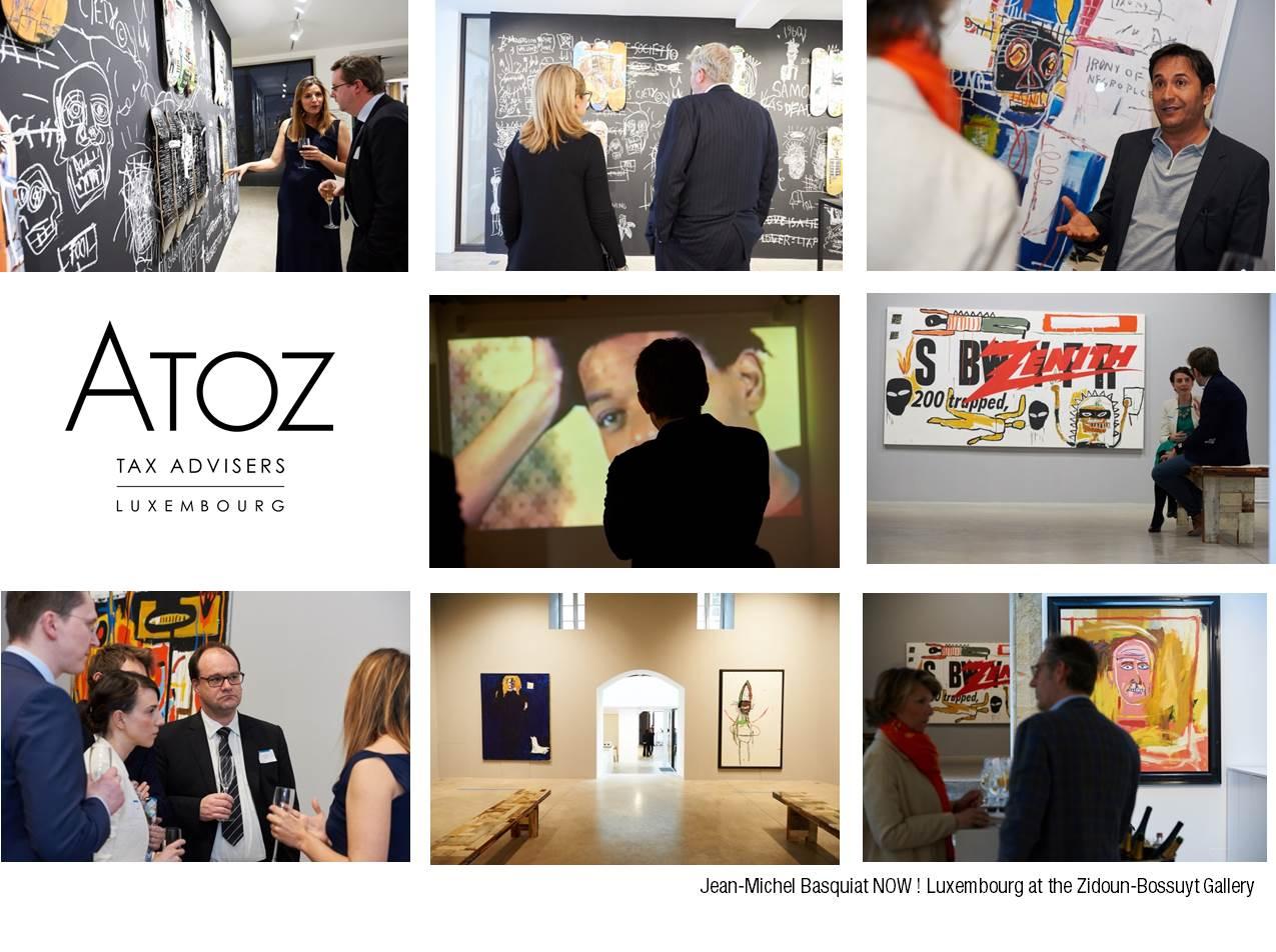 ATOZ opens the Jean-Michel Basquiat exhibition at the Zidoun-Bossuyt Gallery