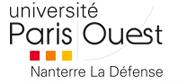 Université Nanterre Paris-Ouest La Défense