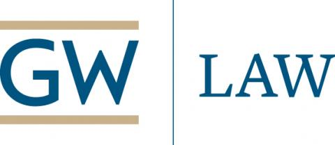 Logo George Washington University Law School (GW Law)